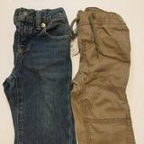 Polo By Ralph Lauren Bottoms | Baby Boy Lot Of 2 Pants Size 9m | Color: Tan | Size: 9-12mb