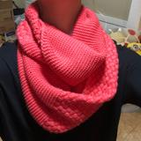 American Eagle Outfitters Accessories | American Eagle Outfitters Coral Scarf | Color: Pink | Size: Os