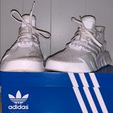 Adidas Shoes | Adidas Sneakers | Color: White | Size: Youth 6 12 Or Womens 9