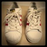 Adidas Shoes | Adidas Tennis Shoes | Color: Pink/White | Size: 5bb