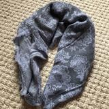 American Eagle Outfitters Accessories | American Eagle Infinity Scarf | Color: Black/Blue | Size: Os
