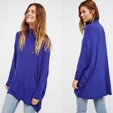 Free People Sweaters | Free People Oversized Sweaters | Color: Blue/Purple | Size: One Size