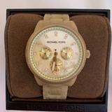 Michael Kors Jewelry   Michael Kors Womens Mk5039 Ritz Horn Watch   Color: Cream/Gold/Red/Tan   Size: Os