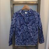 J. Crew Tops | J.Crew Small Button Up Paisley | Color: Blue | Size: S