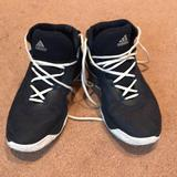 Adidas Shoes | Adidas Navy Blue Womens Sneakers | Color: Black/Blue | Size: 9