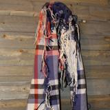 American Eagle Outfitters Accessories | American Eagle Outfitters Scarf | Color: Blue/Pink | Size: Os