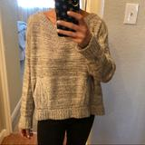 Free People Sweaters | Grey Free People Sweater | Color: Gray | Size: S