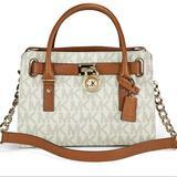 Michael Kors Bags   Michael Kors Hamilton Vanilla Tote Handbag   Color: Cream/White   Size: Os