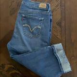 Levi's Jeans   Levis Cuffed Leg 515 Capris Sz 10   Color: Blue   Size: 10