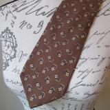 Coach Accessories | Coach Tie | Color: Brown/Tan | Size: Os