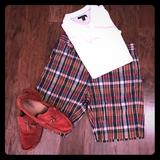 Ralph Lauren Shorts | Authentic India Madras From Ralph Lauren Shorts | Color: Blue/Red/White/Yellow | Size: 32