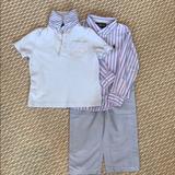Polo By Ralph Lauren Matching Sets | Boys Ralph Lauren Set | Color: Silver/White | Size: 2tb