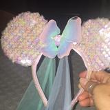 Disney Other | Disney Little Mermaid Ears .. | Color: Green/Pink | Size: Osg