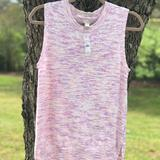 J. Crew Other | J.Crew Sweater Vest | Color: Pink/White | Size: Small