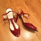 Nine West Shoes   Nine West Red Peep Toe Heels New   Color: Red   Size: 8.5