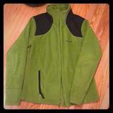 Columbia Jackets & Coats   Columbia Fleece Jacket Szlg   Color: Black/Green   Size: L