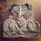 Free People Intimates & Sleepwear   Free People Galloon Bralette-Charcoal   Color: Gray   Size: Xs
