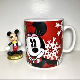 Disney Holiday | Minnie Mouse Christmas Xl Mug | Color: Red/White | Size: Os