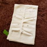 Kate Spade Accessories | *Nwt* Kate Spade Scarf White | Color: White | Size: Os