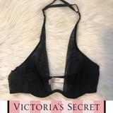 Victoria's Secret Intimates & Sleepwear | Victorias Secret Very Sexy Halter Bra | Color: Black | Size: 34b