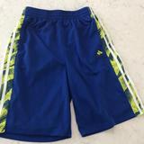 Adidas Bottoms   Adidas Boys Large 14-16 Mesh Shorts   Color: Blue/Yellow   Size: Lb