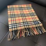 Burberry Accessories | Authentic Burberry Cashmere Scarf | Color: Brown/Tan | Size: Os