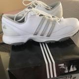 Adidas Shoes | Adidas W Tech Response 2.0 Womens Golf Shoes | Color: Silver/White | Size: 7.5