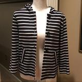 J. Crew Tops | J Crew Navy Striped Button Down Shirt | Color: Blue/White | Size: S