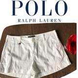 Polo By Ralph Lauren Bottoms | 2$30 Polo Ralph Lauren White Chino Shorts Size 14 | Color: White | Size: 14g