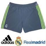 Adidas Shorts | Adidas Mens Real Madrid Away Shorts Grygen Xxl | Color: Gray/Green | Size: Xxl