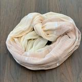 American Eagle Outfitters Accessories | American Eagle Infinity Scarf | Color: Cream/Pink | Size: Os