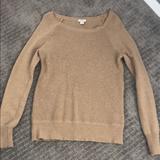 J. Crew Sweaters | Camel Merino Wool Sweater | Color: Tan | Size: S