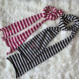 American Eagle Outfitters Accessories | American Eagle Striped Scarf His And Hers Bundle | Color: Blue/Pink | Size: Os