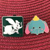 Disney Other | Disney Dumbo Pins | Color: black | Size: Os