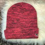 Pink Victoria's Secret Other   Knit Hat By Pink   Color: Black/Pink   Size: Os