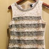 J. Crew Other   J Crew Shirt   Color: Gray/White   Size: M