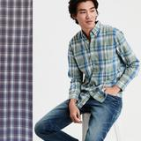 American Eagle Outfitters Shirts | Aeo Vintage Slim Fit Button Down In Red&Blue Plaid | Color: Blue/Red | Size: S