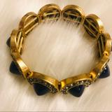 J. Crew Accessories   Bundle Onlyj.Crew Bracelet. Nwot   Color: Blue/Gold   Size: Os
