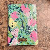 Lilly Pulitzer Accessories   Lilly Pulitzer Passport Cover   Color: Green/Pink   Size: Os