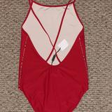 Burberry Swim   Brand New Poppy Red Burberry Swimsuit   Color: Red   Size: 14g