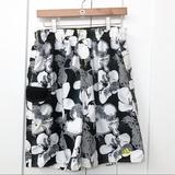 Adidas Swim | Adidas Floral Swim Trunks | Color: Black/White | Size: M