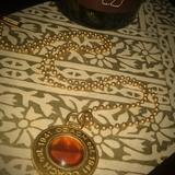 Coach Accessories   Coach Necklace   Color: Gold/Orange   Size: Os