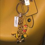 Coach Accessories | 100% Authentic Coach Goldmulti Keychain | Color: Gold | Size: Os