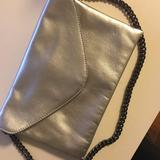 J. Crew Accessories   J Crew Silver Purse- Used Once, Great Condition.   Color: Silver   Size: Os