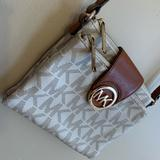 Michael Kors Bags   Like New Mk Crossbody   Color: White   Size: Os