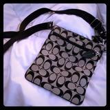 Coach Accessories   Coach Bag   Color: Black/Gray   Size: Os