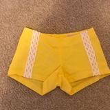 Lilly Pulitzer Shorts | Lilly Pulitzer Shorts | Color: White/Yellow | Size: 000