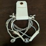 American Eagle Outfitters Jewelry   Ae Bracelet Set   Color: Gray/Silver   Size: Os