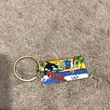 Disney Other | Disney Keychain | Color: Green/Red | Size: Os