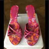Nine West Shoes | Nine West Mules | Color: Pink | Size: 10